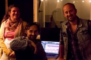 Avec Charles Dubrez et Julien Vonarb
